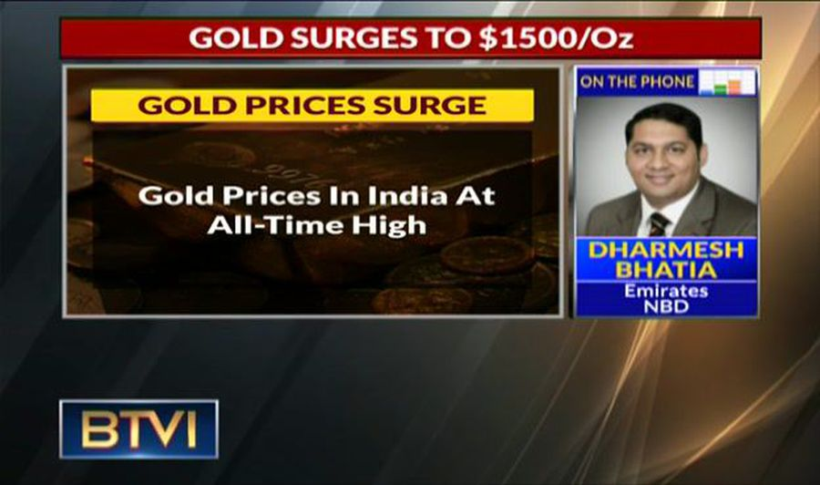 Gold To Rally To Rs 38,500-39,000 In Short To Medium-Term: Dharmesh Bhatia