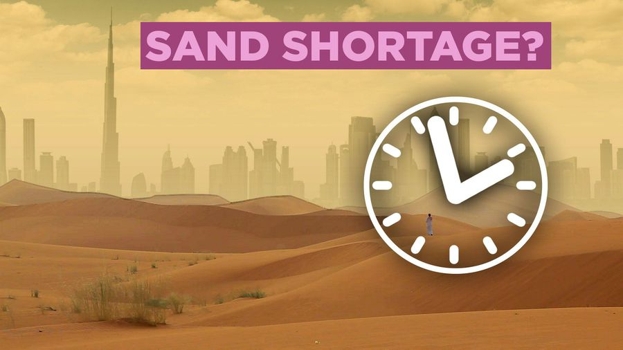 The World Is Running Out Of Sand