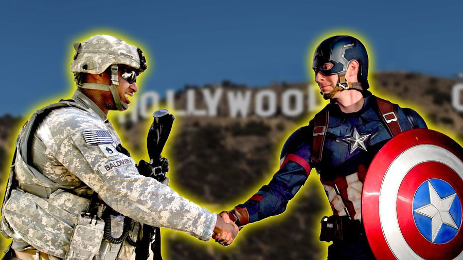 How the U.S. Military Influences Hollywood