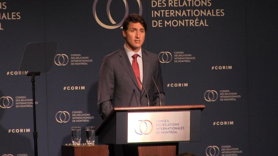Trudeau says Canada won't back down against China
