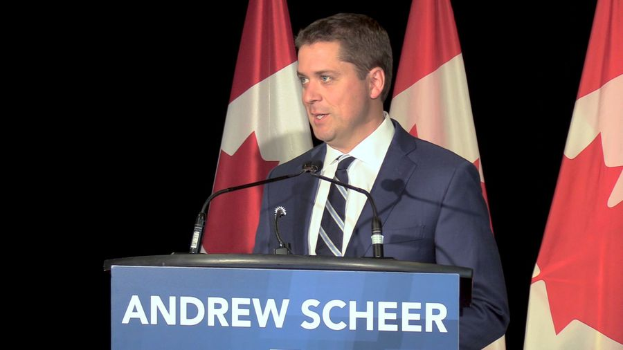 Scheer says Conservative government would not reopen debates on abortion, same-sex marriage