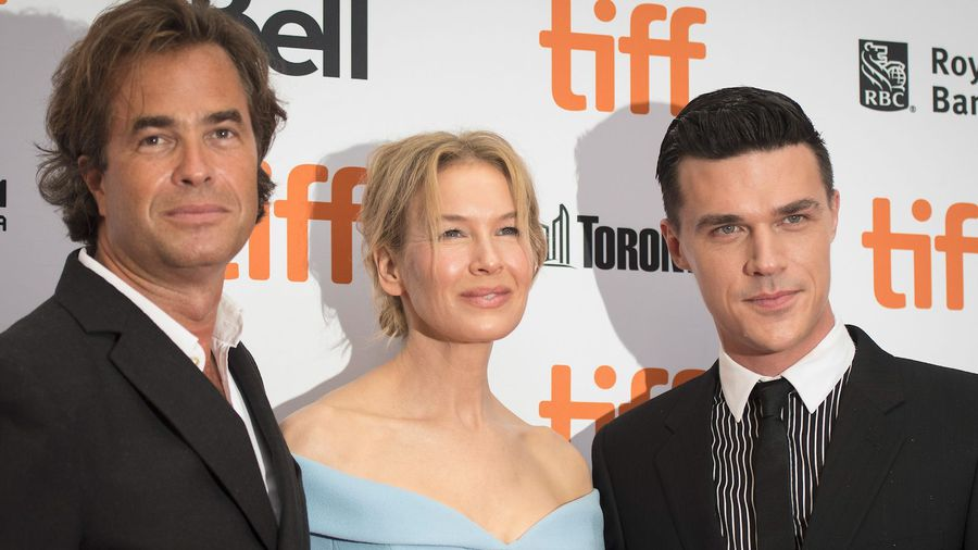 Renee Zellweger and Director Rupert Goold at the Canadian premiere of 'Judy' at TIFF