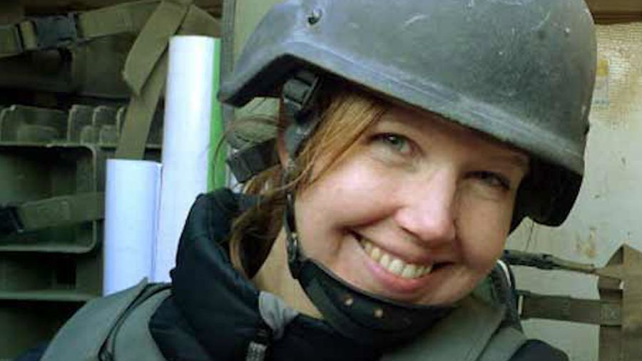 Plaque unveiled honouring a journalist killed in Afghanistan