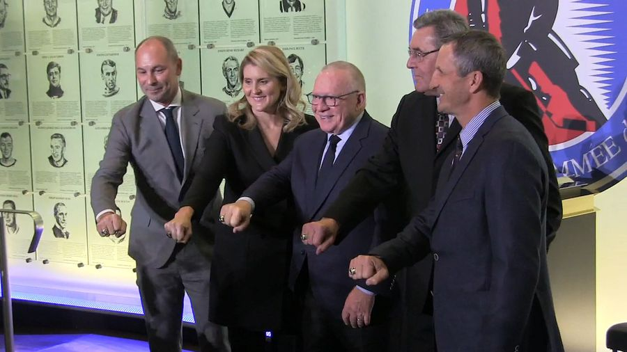 Hockey Hall of Fame's class of 2019 get their rings