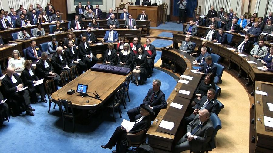 Manitoba throne speech focuses on small tax cuts, campaign promises