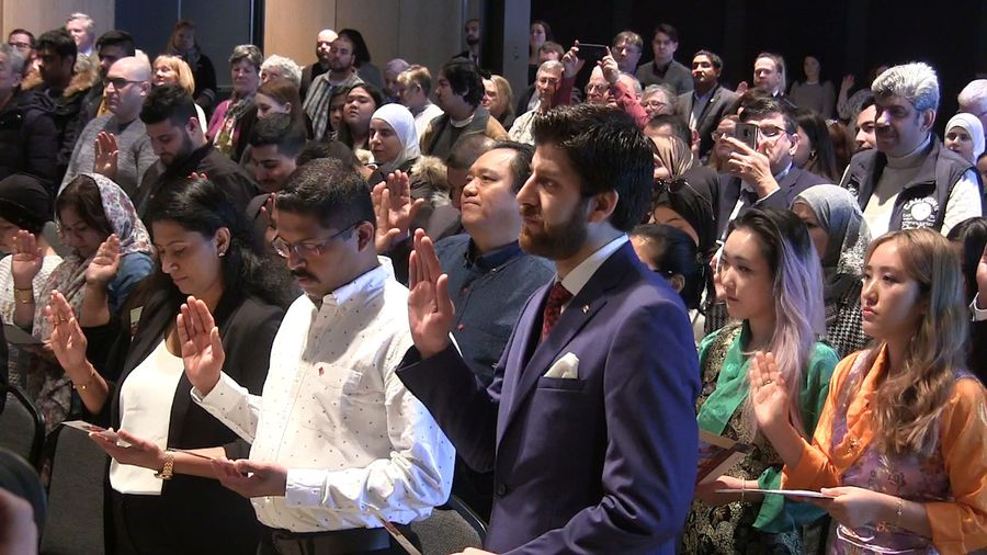 Refugee and chocolate maker Tareq Hadhad becomes citizen in Halifax ceremony