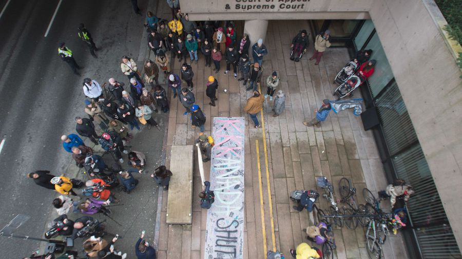 Anti-pipeline protests continue for sixth-day of demonstrations