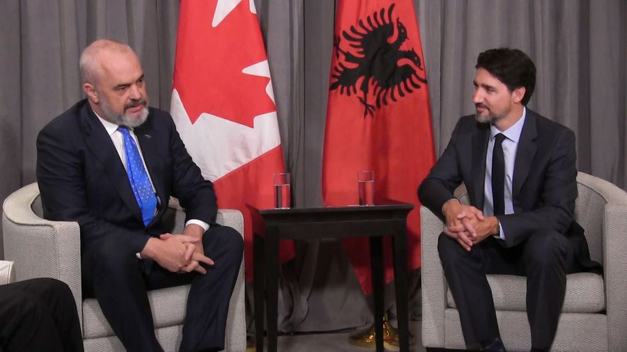 Trudeau meets with leaders at Munich Security Conference