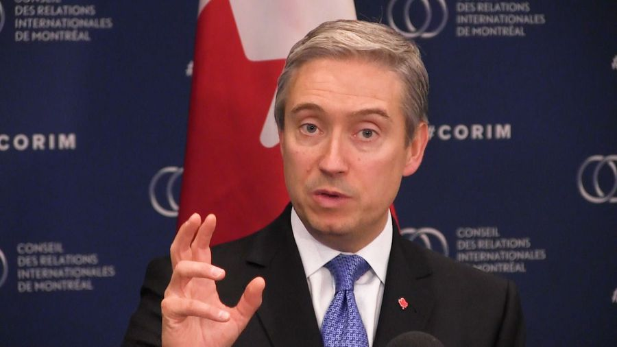 Champagne says Canada offering 'tailored consular services' to Canadians with coronavirus