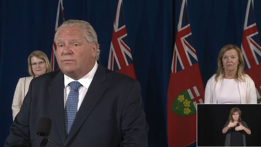 Ontario aims to extend emergency measures