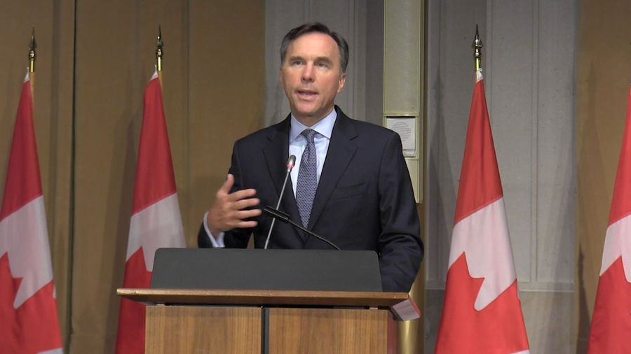 Massive federal debt for COVID-19 manageable: Morneau