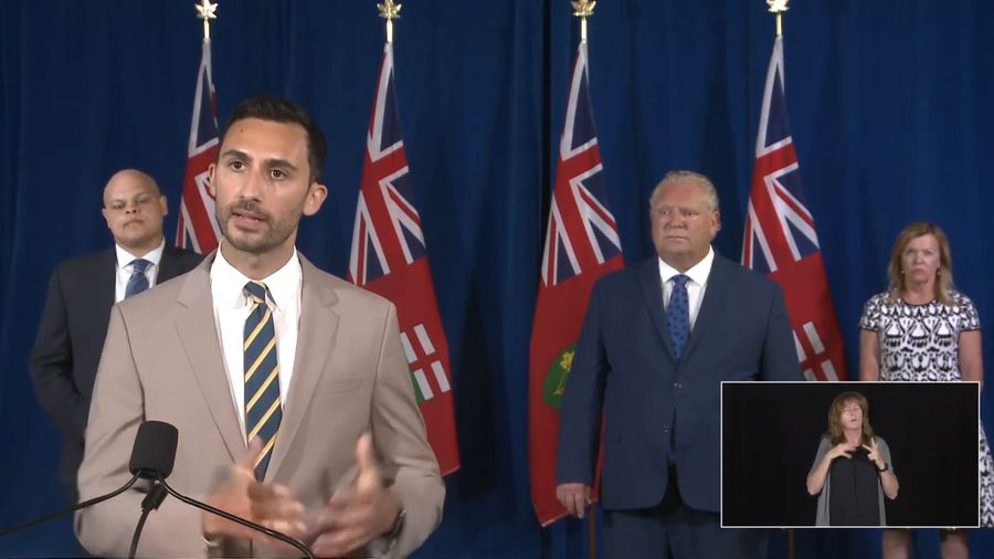 Ontario prefers in-class return for students this fall: Lecce