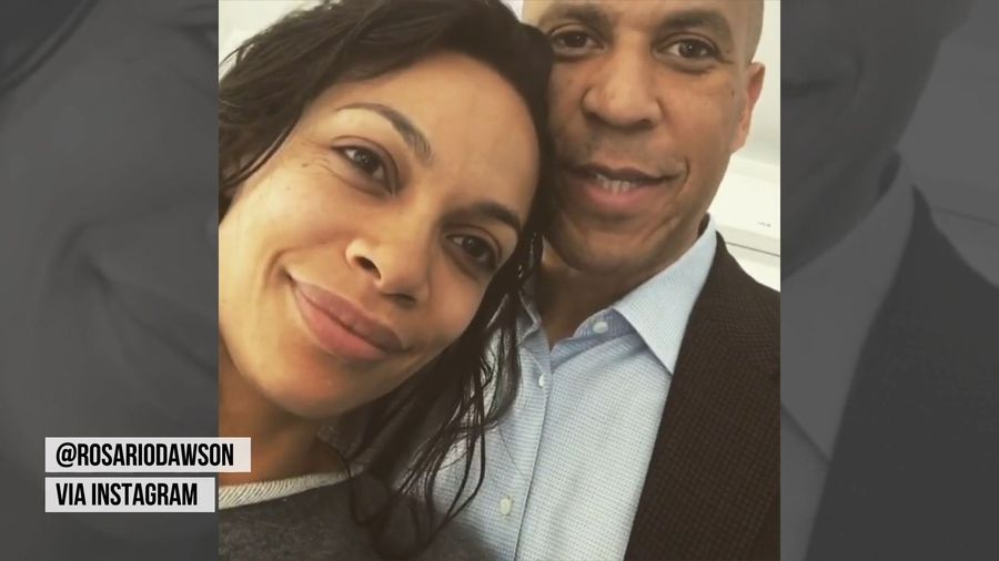 Dating a top Senator is a 'big commitment' for Rosario Dawson