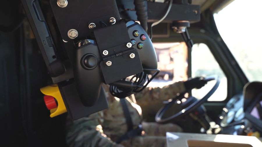 New Army Vehicle Can Be Controlled By An Xbox Controller