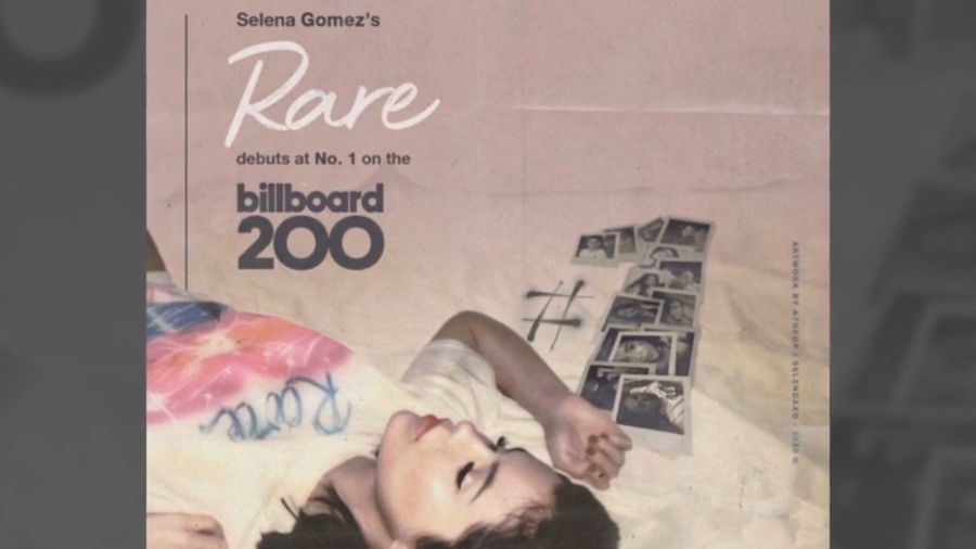 Selena Gomez lands third number one on U.S. albums chart