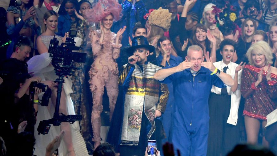 Paris Jackson makes runway debut during Jean Paul Gaultier's final show