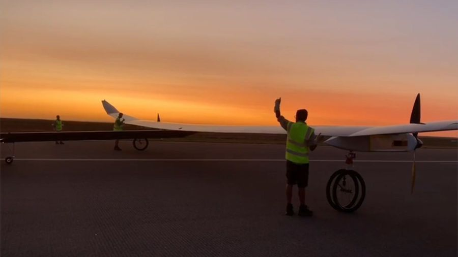 Unmanned Solar Aircraft Designed To Stay Aloft For A Year Completes Successful Maiden Flig