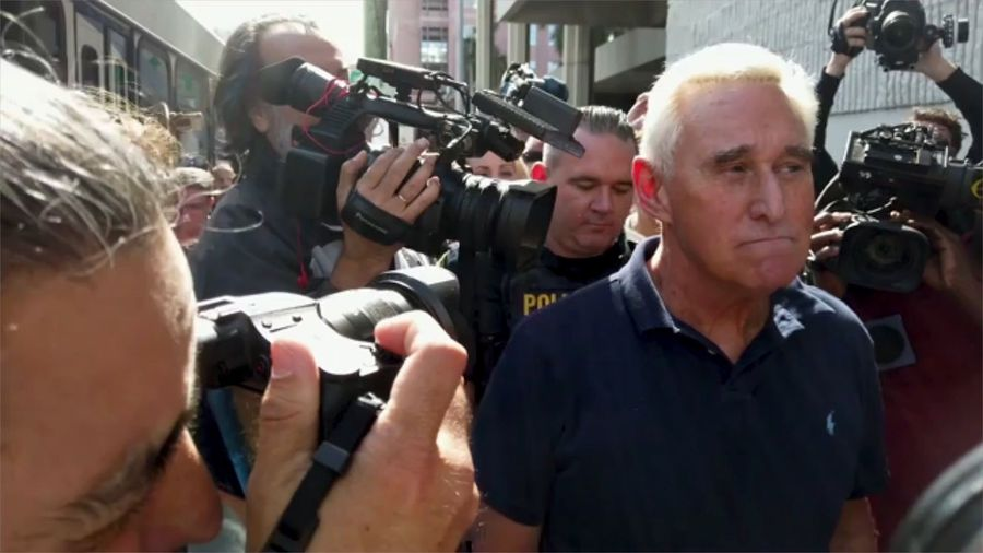Roger Stone Sentenced to 40 Months in Prison