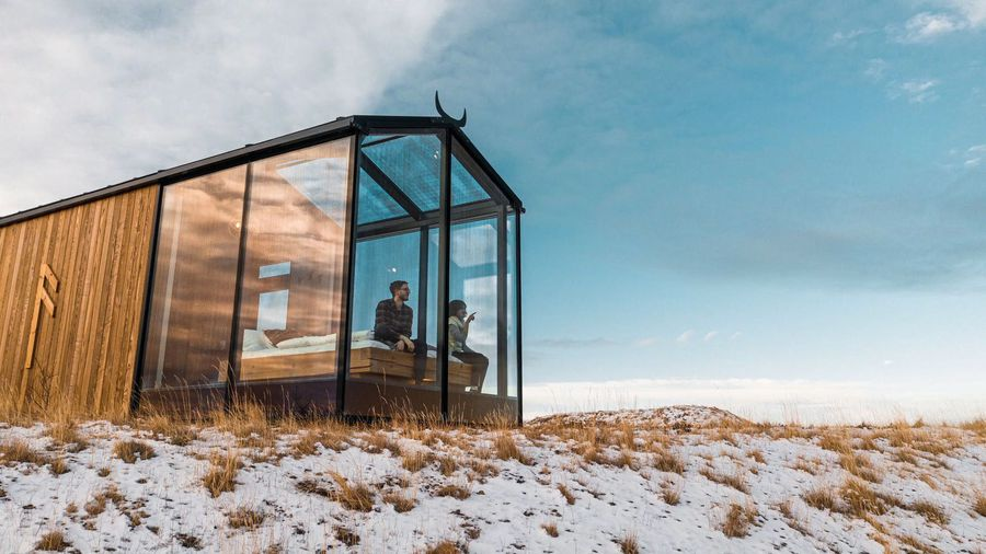 Stargaze From Bed In These Cozy Glass Cabins In The Icelandic Countryside