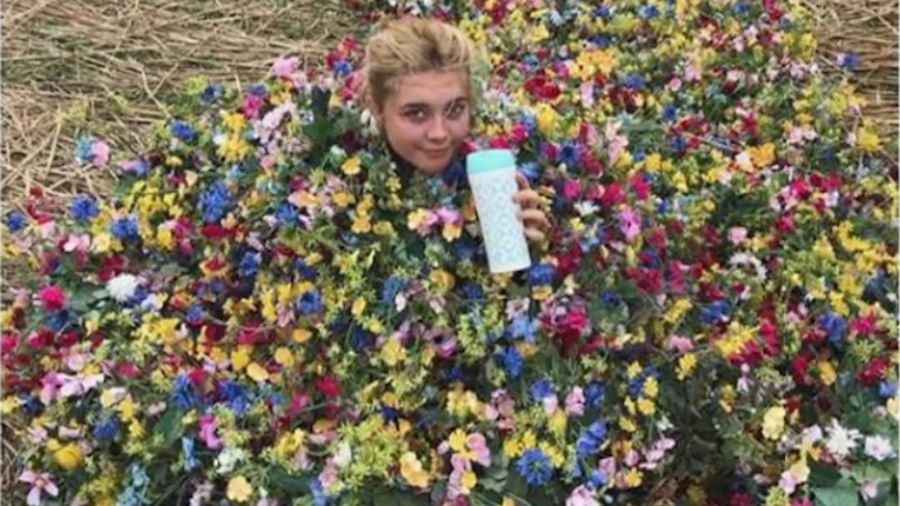 Florence Pugh's Midsommar floral dress sells for $65,000 at charity auction