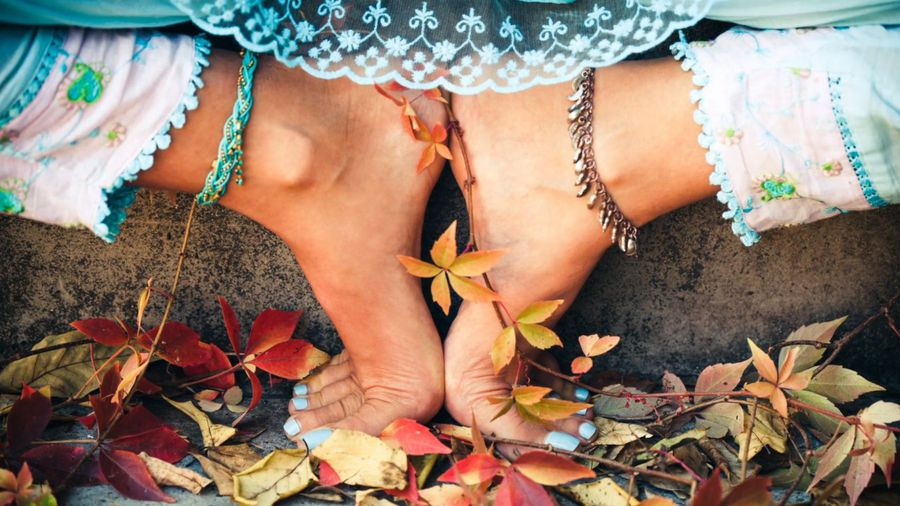 The benefits of working out barefoot