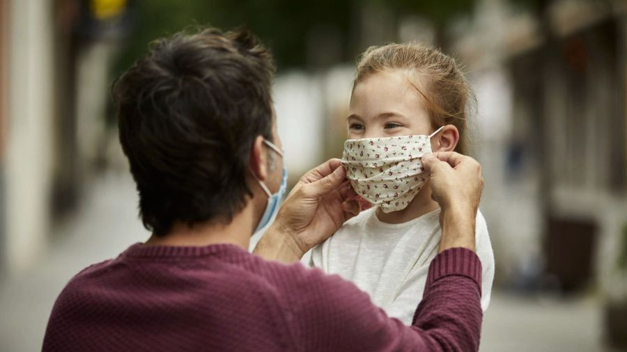Wearing face masks at home may help curb spread of Covid-19 virus