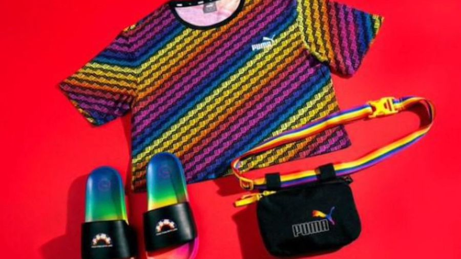 Cara Delevingne launches Pride collection for Puma