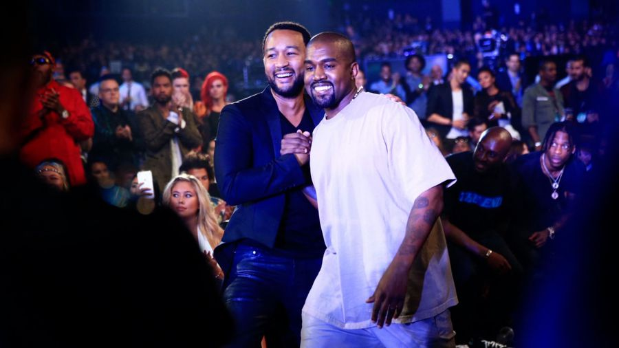 John Legend insists Kanye West's support of President Trump wasn't behind fallout