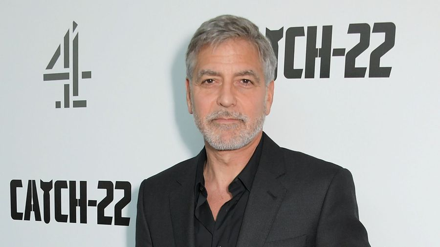 George Clooney calls for action against racism 'pandemic'