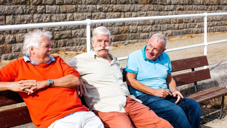 Older men who worry less about Covid 19, at greater risk of infection