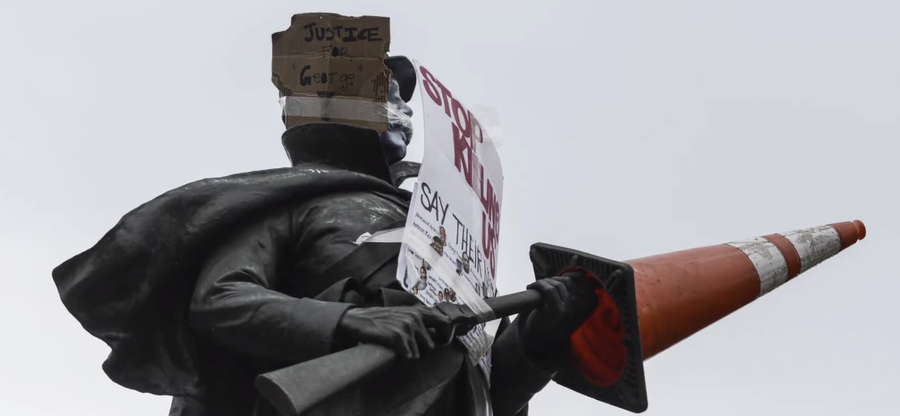 Confederate Monuments Removed or Defaced in Several Cities Amid Unrest
