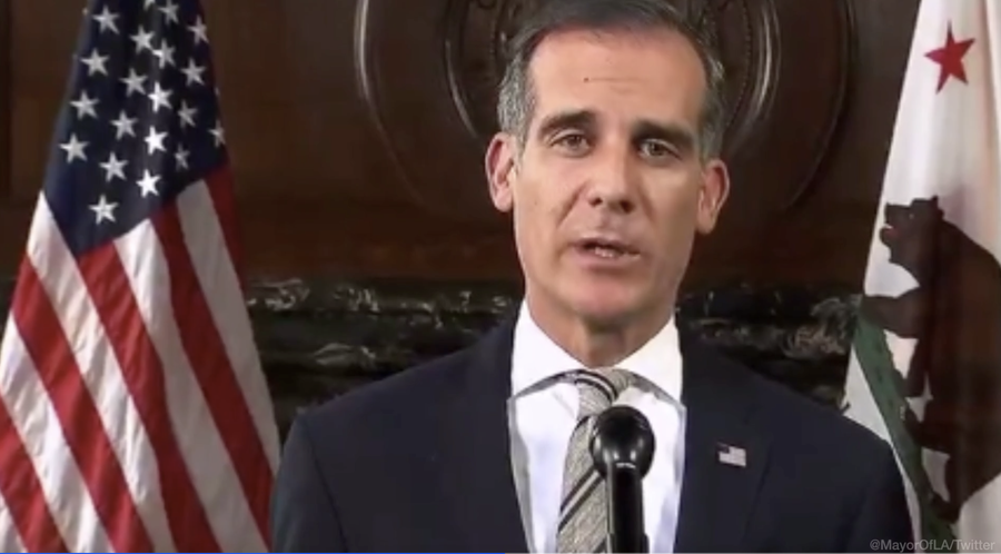 LAPD Chief Michel Moore Says George Floyd's De*th Is on Looters' Hands