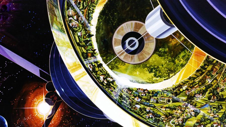 This Is How The 70s U.S. Government Pictured Us Living In Space Colonies