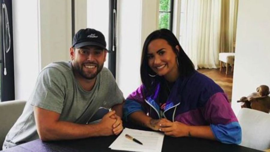 Scooter Braun wasn't keen to take Demi Lovato on as a client