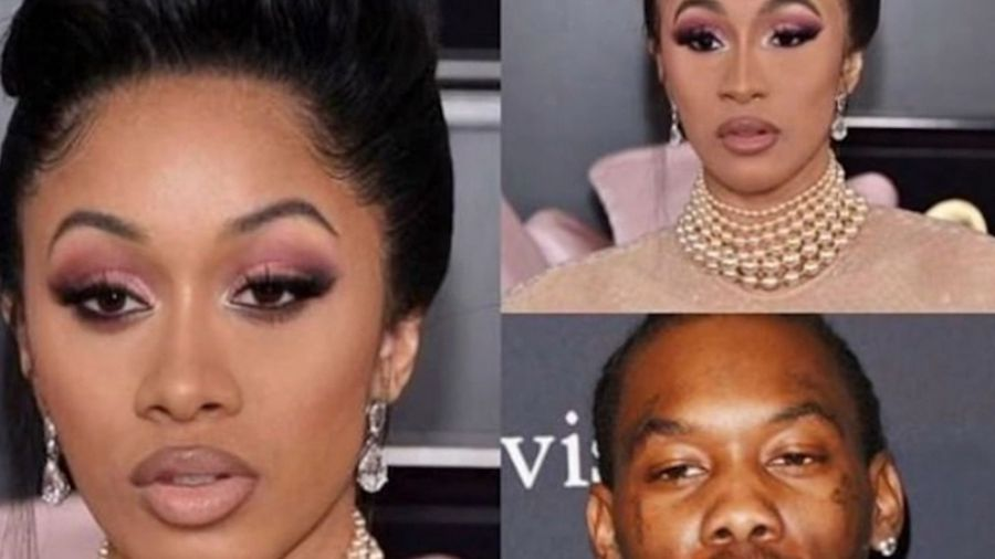 Cardi B apologises for describing sisters eyes with racial slur