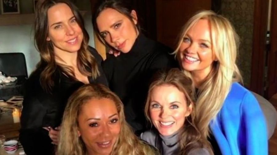 Spice Girls reunite with Victoria Beckham for socially-distanced walk in the woods