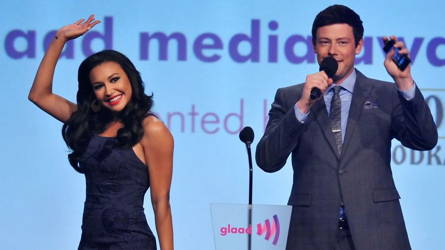 Cory Monteith's mother pays tribute to actor's Glee co-star Naya Rivera