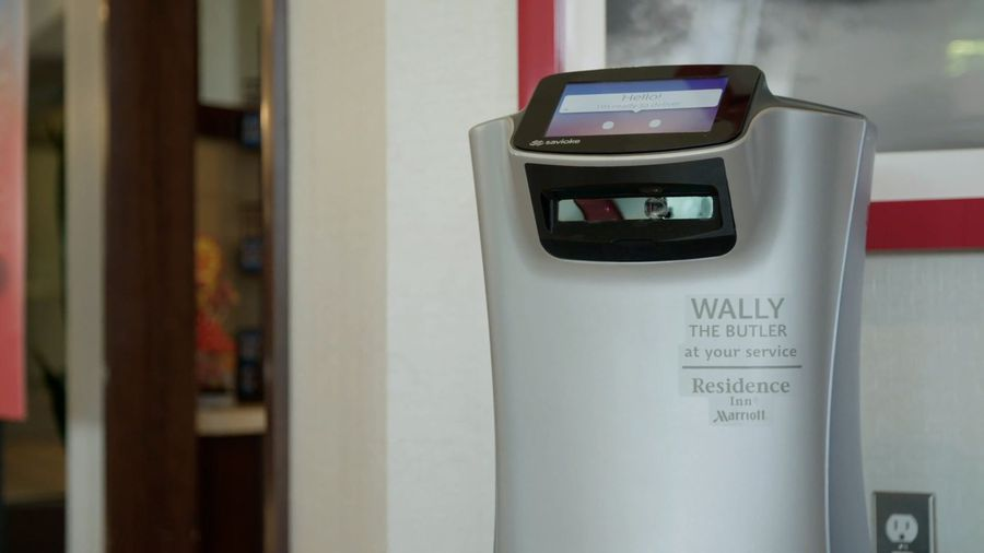 UPDATED VERSION: U.S. Hotels Use Robots To Deliver Room Service, Towels And Snacks To Avoid Human Co