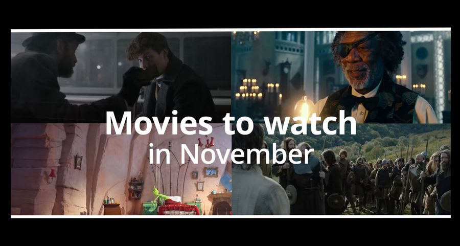 Films to watch in November: Fantastic Beasts and Widows