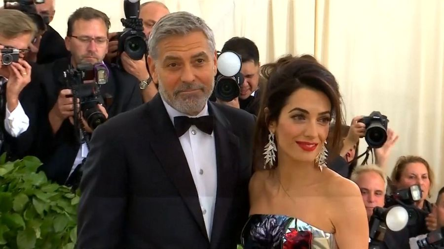 George Clooney selling off prized motorbike for charity