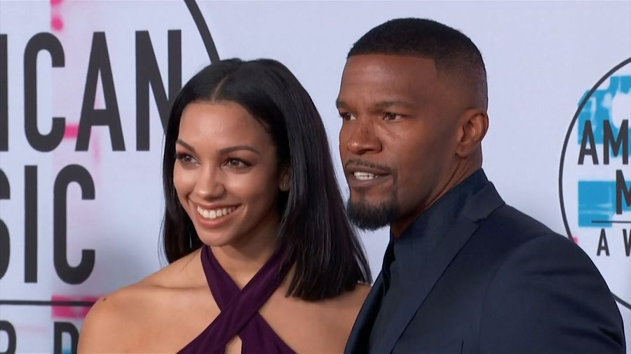 Jamie Foxx encouraging daughter's beatmaking skills