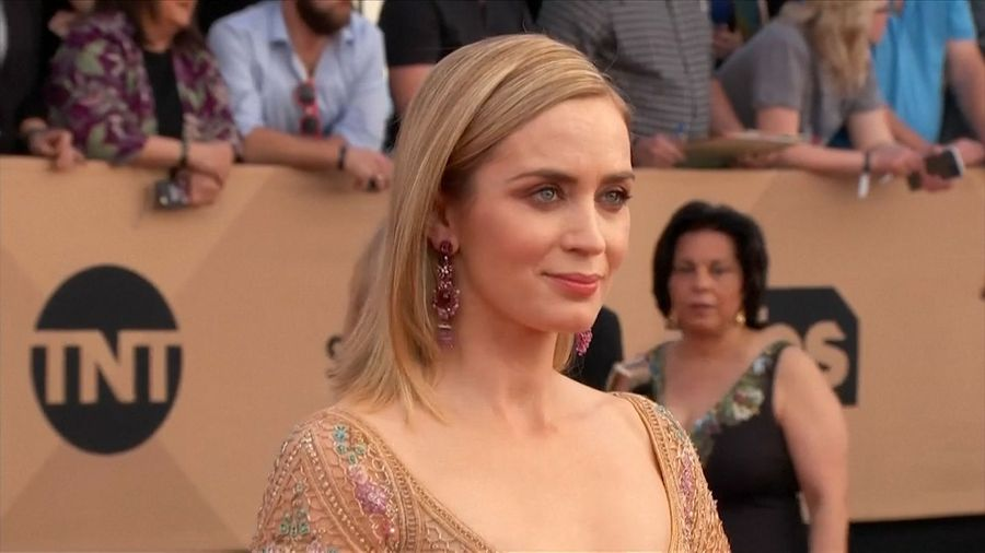 Emily Blunt dreams up role with Leonardo DiCaprio in Alfonso Cuaron film