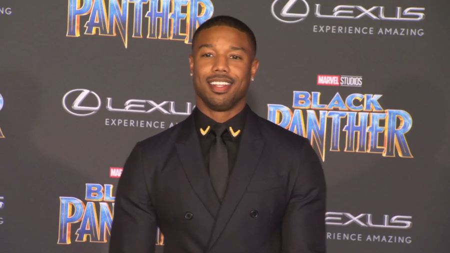 Michael B. Jordan packed on the pounds to size up to 'Creed 2' opponent