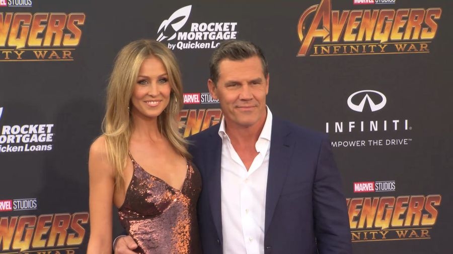 Josh Brolin's wife documents evacuation from deadly wildfires