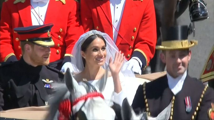 Special: Harry and Meghan Markle's 2018