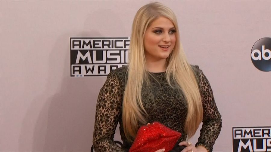 Meghan Trainor fought the urge to break down in tears on wedding day
