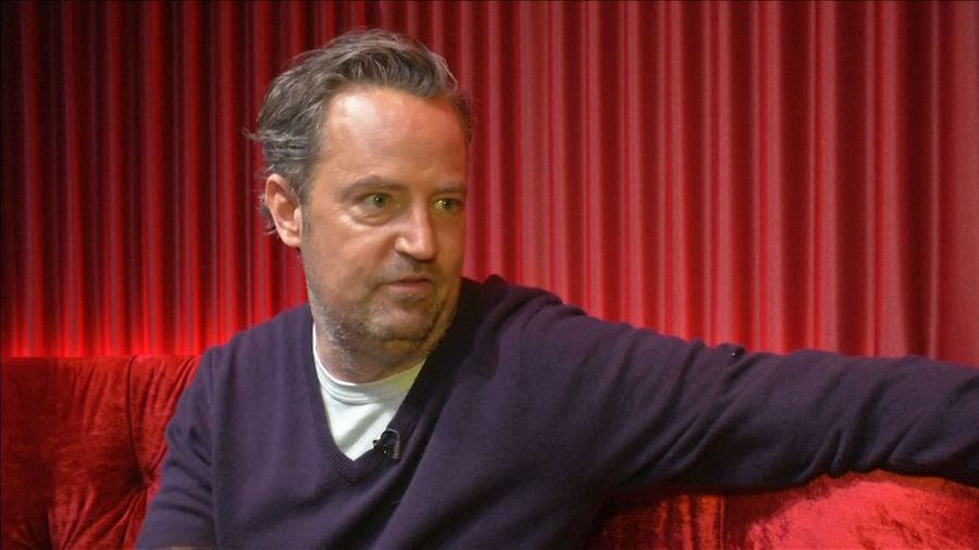 Matthew Perry back in therapy after worrying tweet