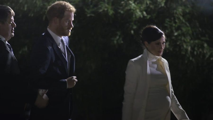 Duke and Duchess of Sussex attend gala performance at Natural History Museum
