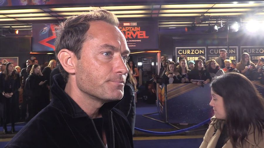 Jude Law praises Marvel Cinematic Universe filmmakers