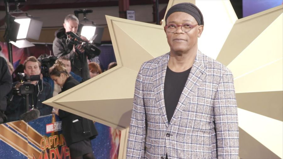 Samuel L. Jackson thinks 'Captain Marvel is a new kind of feminist hero'